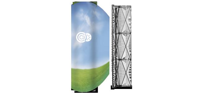 eTiskarna - pop-up-stolp